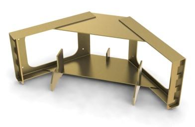 Multi-Form<span class='specialfnt'>&trade;</span> Corner Frame, Galv. Steel