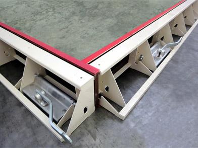 Fly-frame aluminum
