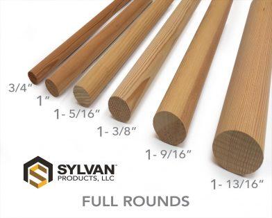 Full Round Pole & Dowels
