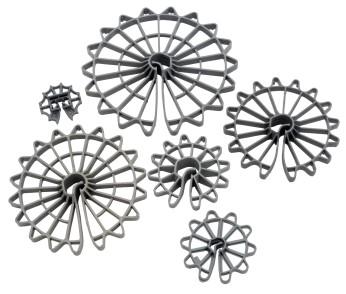 Wheel Clamps for Rebar, Plastic