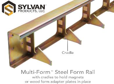 Multi-Form<span class='specialfnt'>&trade;</span> Galv. Steel Rail