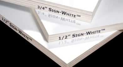 Sign-White<span class='specialfnt'>™</span> Prefinished Sign Panel