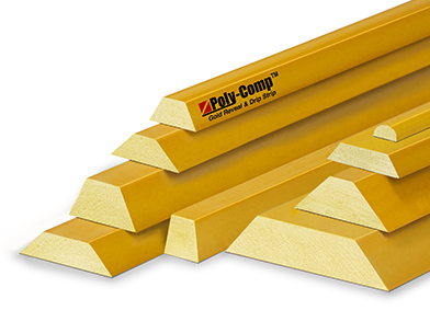 Poly-Comp<span class='specialfnt'>®</span> Gold Plastic Reveal Strip