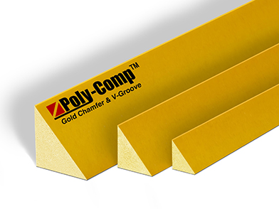Poly-Comp<span class='specialfnt'>™</span> Gold Plastic Chamfer