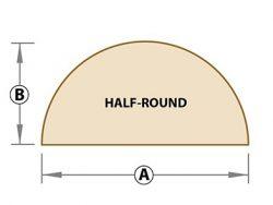 half round
