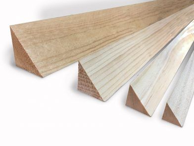 Clear Pine Wood Chamfer Family