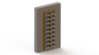 MagFly AP wall rack