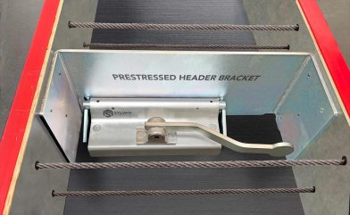 Prestressed Header Bracket