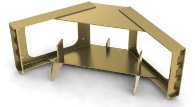 Multi-Form<span class='specialfnt'>™</span> Corner Frame, Galv. Steel