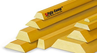 Poly-Comp<span class='specialfnt'>™</span> Gold Plastic Reveal Strip