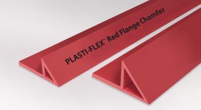 Plasti-Flex<span class='specialfnt'>™</span> Red Reusable HDPE Flange Chamfer